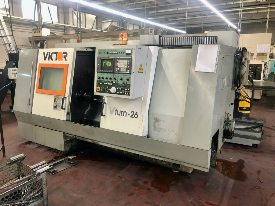 VICTOR CNC Turning Centre with C axis