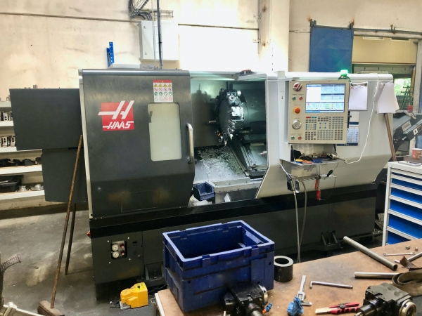 HAAS CNC Turning Centre with C-axis and live tooling